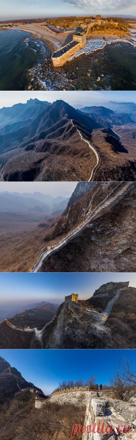 Обзор на 360º | Великая Китайская стена: самые труднодоступные места