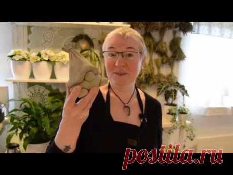 Гном из бетоной смеси от Onega Flora & Kuriosa - YouTube
