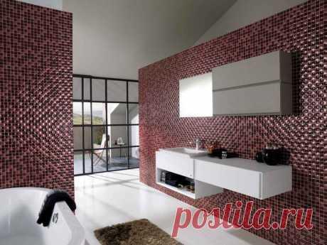 Способы имитации мозаичной плитки и полезные советы Способы имитации мозаичной плитки. Качества плитки под мозаику. Имитация мозаики с помощью рисунка. Особенности.