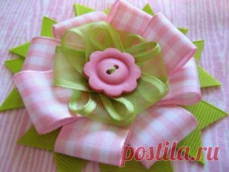 Цветок из ткани мастер класс. Цветок из ткани своими руками крупные | Лаборатория домашнего хозяйства