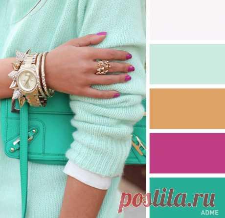 15 нежных цветовых сочетаний в одежде : Красота : Мир женщины : Subscribe.Ru
