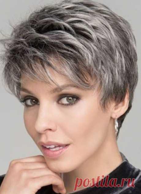 10 стрижек для седых волос (и полезные советы для красивой седины) | Мода в деталях | Яндекс Дзен