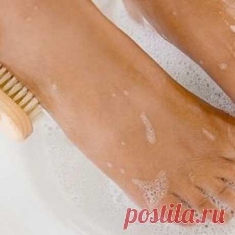 Ванна для ног с перекисью водорода
