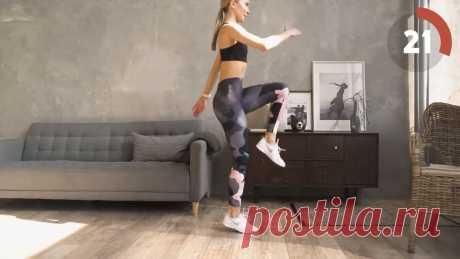 Кардио тренировка для сжигания жира | Упражнения для похудения в домашних условиях