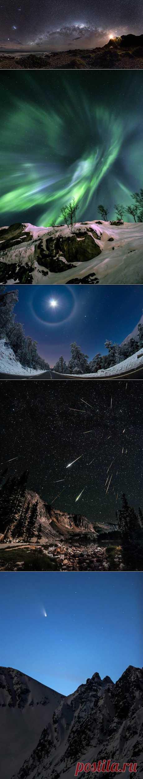 Лучшие работы конкурса астрономической фотографии Astronomy Photographer of the Year