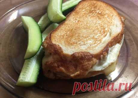 (4) Яичный бутерброд с курицей и сыром - пошаговый рецепт с фото. Автор рецепта Ирина . - Cookpad