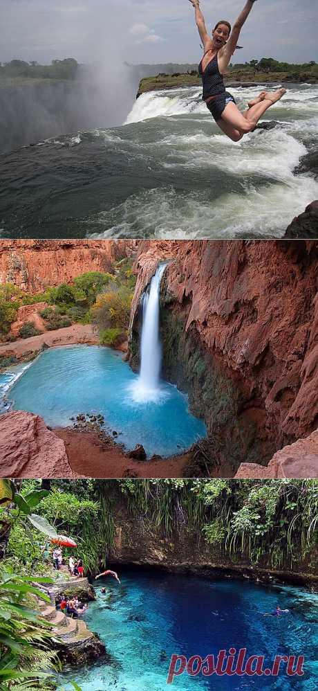 Природные бассейны « Крутая тема: самые интересные фото, видео, вещи и явления со всего света