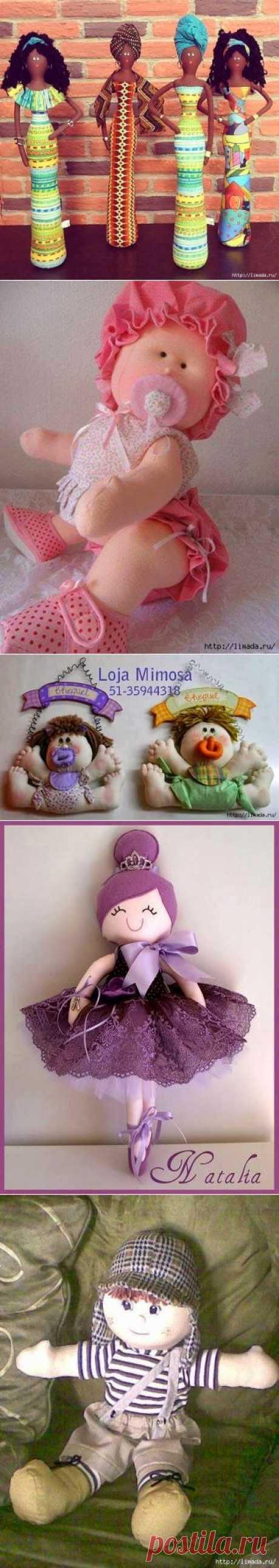 текстильные куколки с выкройками