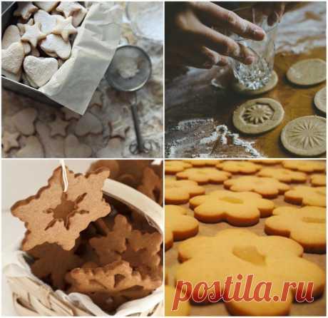 Новогоднее имбирное печенье по традиционному рецепту — Готовим дома