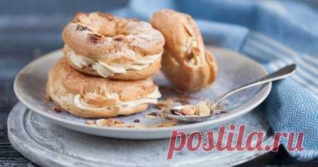 Заварные кольца с кремом — Sloosh – кулинарные рецепты
