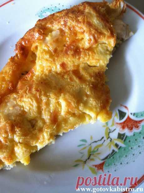 Куриный пирог-запеканка