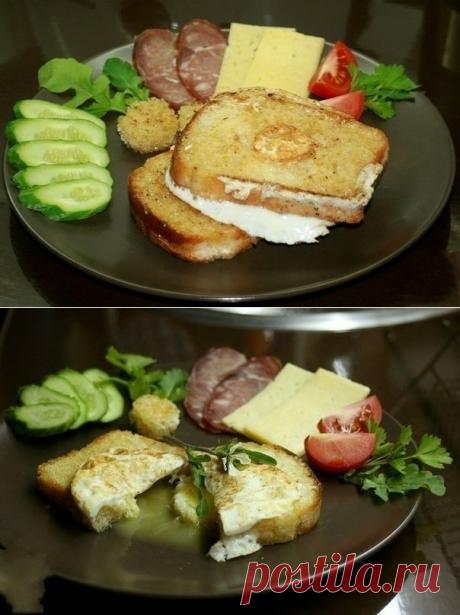 Как приготовить гренки с яйцом-пашот по-английски - рецепт, ингредиенты и фотографии
