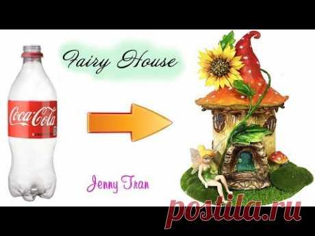 DIY Sunflower Fairy House