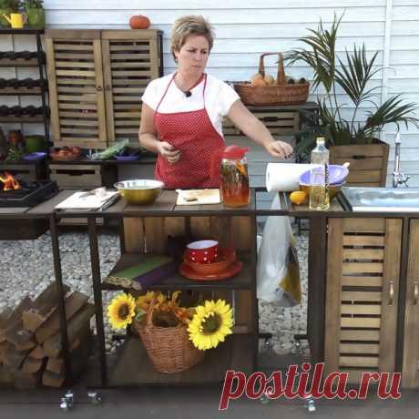 Летняя кухня на даче — фото — Ботаничка.ru