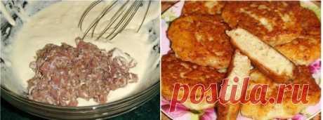 Очень быстрые «беляши» с мясом — быстро и вкусно!