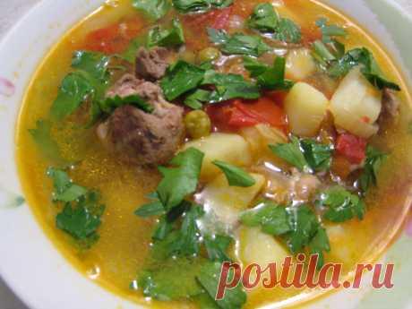 "Суп ""Обед туриста""- легко и вкусно. Пошаговый рецепт с фото.   STASNET   Яндекс Дзен"