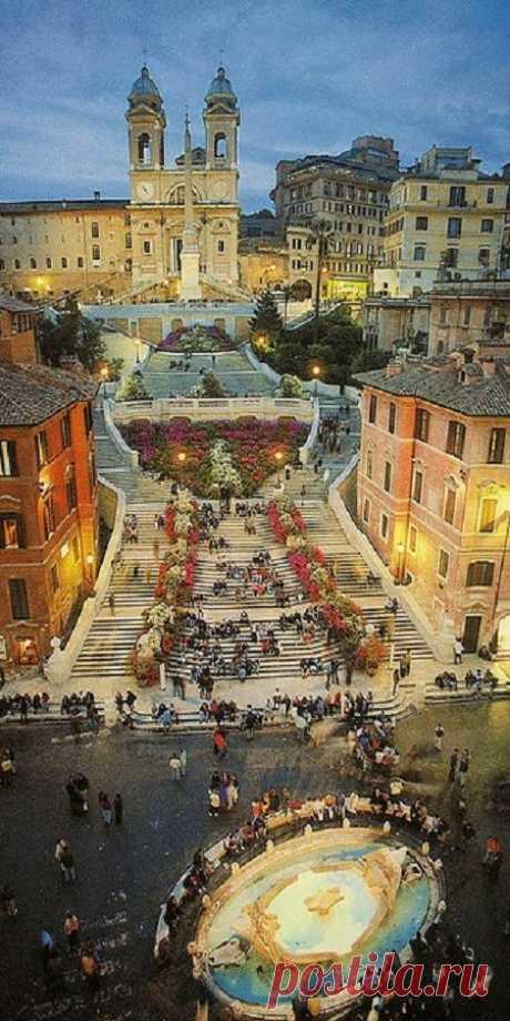 Spanish Steps, Rome, Italy | Pinterest • World catalog of ideas