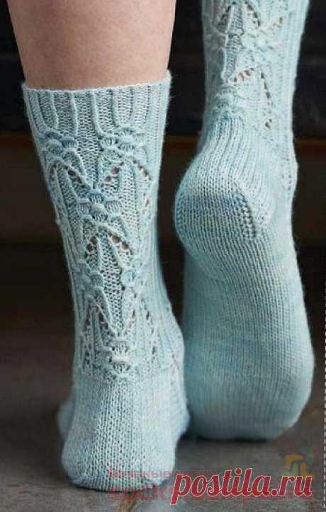 Ажурные носки «Borage»