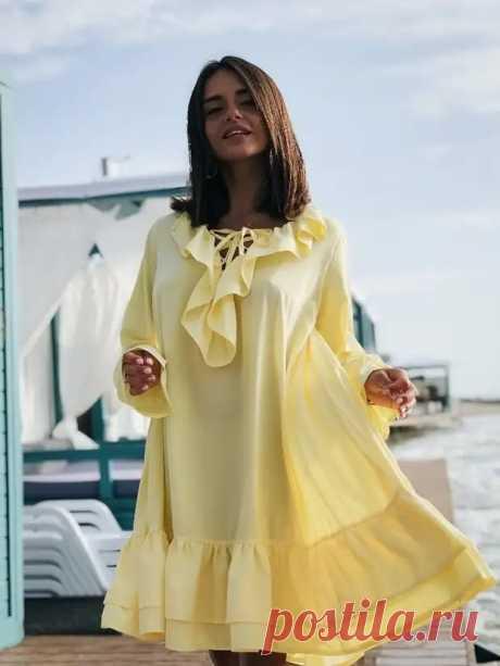 Идеальное решение для летнего зноя: платье-парашют | VestiNewsRF.Ru