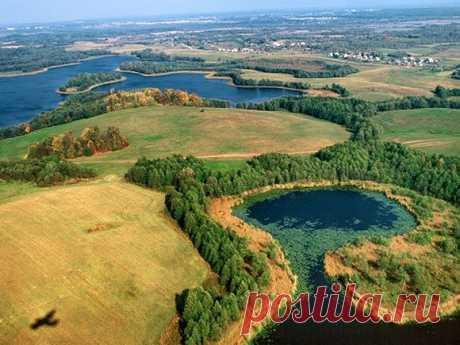 Самое красивое место Беларуси