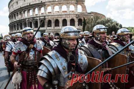 Неожиданные факты из жизни римских легионеров (25 фото)   Чёрт побери