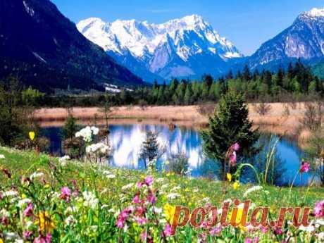 Удивительная природа в картинках, красота и очарование на фото