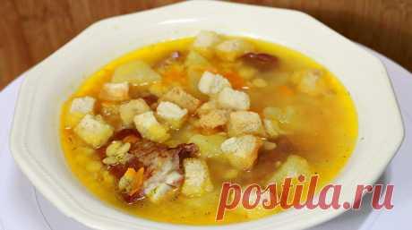 Очень вкусный гороховый суп - Вы можете порадовать себя и близких, приготовив вкусный гороховый суп. Возможно кто и не знает, но в гороховом супе содержится большое количество витаминов группы В, минералов, калия, магния и фосфора.... Read more »