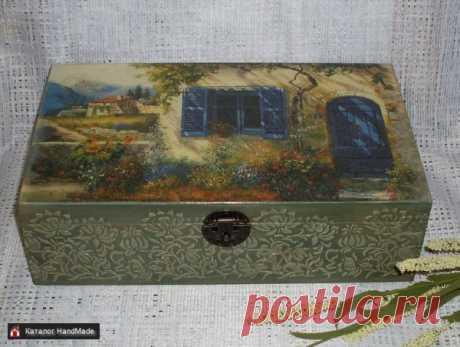 Шкатулка 'Под солнцем Тосканы' купить в Беларуси HandMade, цены в интернет магазинах