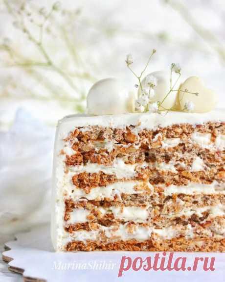 Ореховый торт   HomeBaked