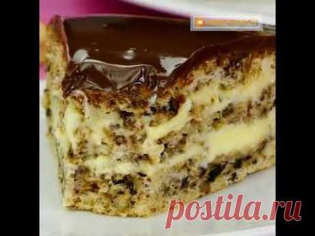 Только не откусите пальцы! Рецепт самого вкусного орехового торта, покорит вас навсегда! | Appetitno