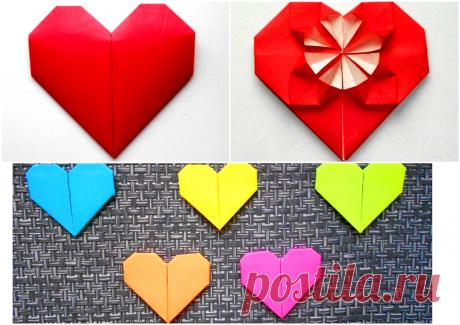 Как сделать сердце из бумаги | Оригами, поделки, канзаши | Если Вы хотите сделать кому-нибудь приятный сюрприз, признаться в симпатии или любви, или просто красиво украсить подарочную упаковку, то для этого отлично подойдут сделанные своими руками бумажные сердечки. При этом повод совершенно не важен - сердечки можно дарить как на день Святого Валентина, так и на Рождество, день рождения, 8 марта, 23 февраля или любой другой праздник.