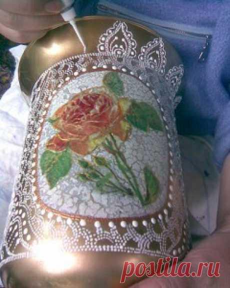 "Natalya Mustafina's master class a vase \""Openwork\"" | the hands — the Internet the magazine"