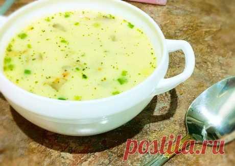 (8) Сырно-грибной супчик - пошаговый рецепт с фото. Автор рецепта Анна-87 Мой Инстаграмм - @ann_teleus🏃♂️ . - Cookpad