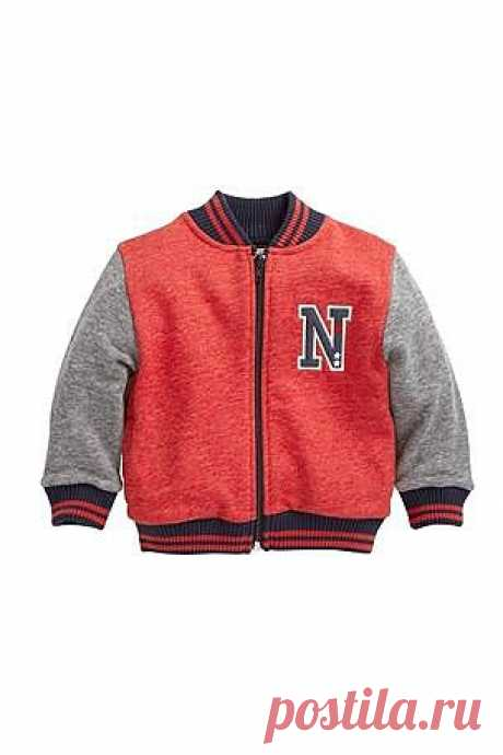 Buy Grey Red ZT Letterman Jacket (3mths-6yrs) from the Next UK online shop