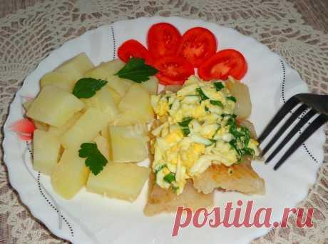 Рыба по польски с яйцом рецепт с фото пошагово - 1000.menu
