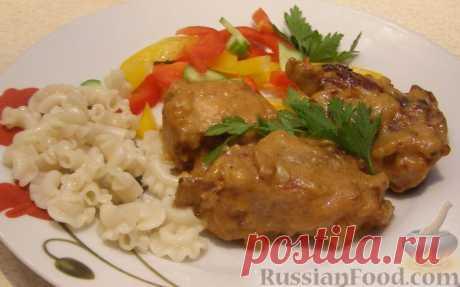 Рецепт: Тушеные свиные ребрышки на RussianFood.com