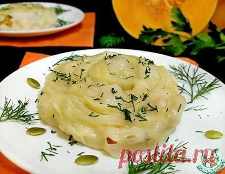Гуль-ханум с курицей и тыквой – кулинарный рецепт