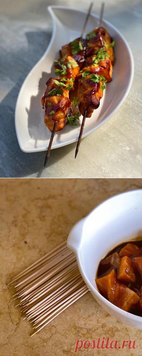 О, напомнили про мёд-горчицу-соевый соус ещё из... - Ника Белоцерковская  рецепт для лосося и мяса