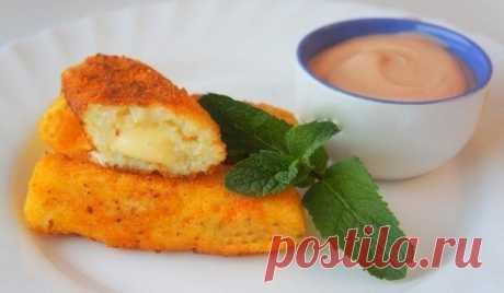 Как приготовить картофельные палочки с сыром. - рецепт, ингредиенты и фотографии