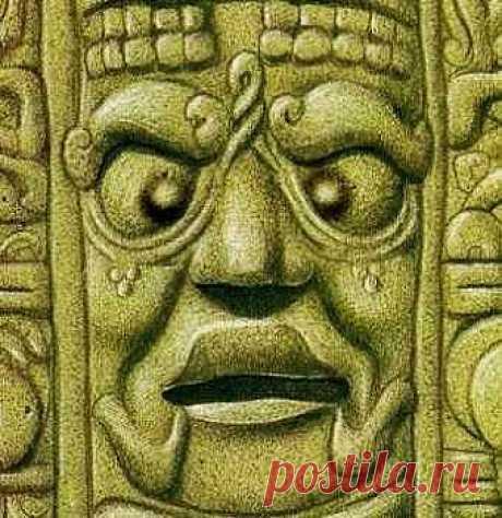 """Народ майя славился в числе прочего своим стремлением улучшить """"красоту"""" своих детей, причем весьма варварскими способами. К примеру, детям до определенного возраста, особенно из знати, приходилось несколько часов в день носить прижатую к лицу доску, чтобы лицо стало """"плоским"""", что было свидетельством красоты и богоизбранности. Еще один """"признак"""" красоты – косоглазие, которое достигалось подвешиванием маленького предмета перед глазами младенца од тех пор, пока он полностью не окосеет."""