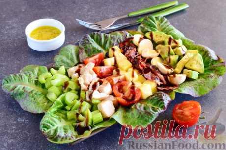 Рецепт: Кобб-салат с куриной грудкой