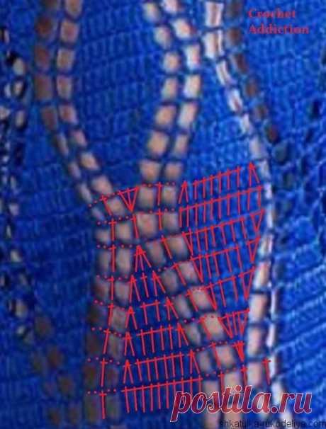 Платье макси в стиле бохо. Красивое платье крючком схемы | Шкатулка рукоделия. Сайт для рукодельниц.