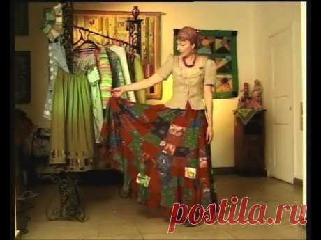 Шьем без выкройки красивую стильную юбку. Мастер класс - YouTube