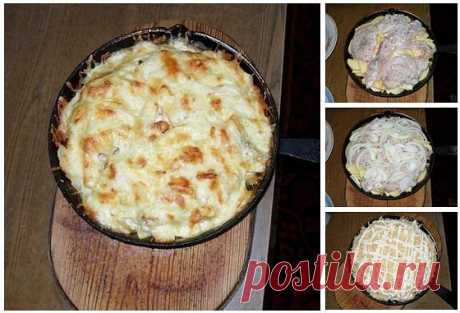 Картошка по-королевски рецепт с фото.