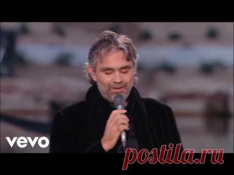 Страстная песня «Besame Mucho» в исполнении Андреа Бочелли