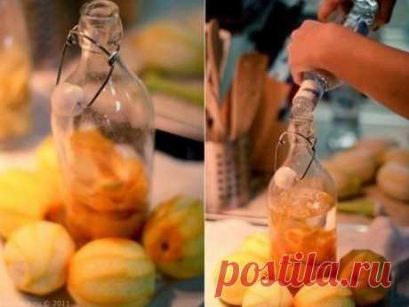 Оранчелло — апельсиновый ликер, который готовили параллельно с Лимончелло.