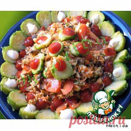 "Salatik ""Раскаты грома"" - culinary recipe"