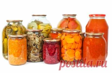 Как правильно сохранить домашние консервы, закатку и заготовки