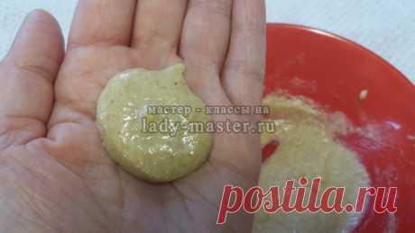 Натуральный домашний крем-шампунь c горчицей и ржаной мукой