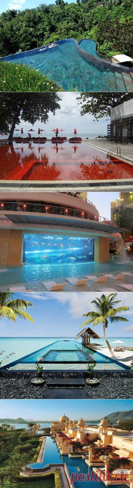 10 сногсшибательных бассейнов в отелях